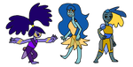 Lapis Lazuli Adopts 1/3!!! Sale! by AvalonJohnsonArt