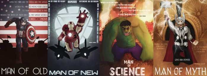 Men of Old, New, Science and Myth by artisan72