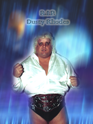 RIP Dusty Rhodes by scrik