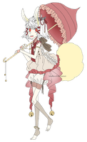 [CLOSED] demon bunny lolita [AUCTION] by hoothoo
