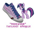 Twilight shoes by DoctorRedBird