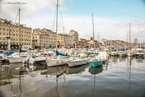 Marseille, Le vieux port 2 by ShlomitMessica