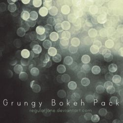 Grungy Bokeh Pack by regularjane