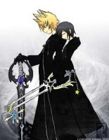 KH- A Parting Gift by mell0w-m1nded
