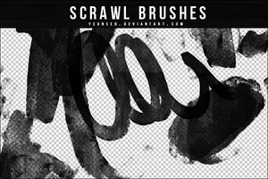 SCRAWL BRUSHES by Yeonseb