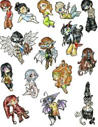Chibi Collection 1 by avi17