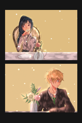 BOY AND GIRL SET UP ON BLIND DATE. WHAT HAPPE by smile-himechii