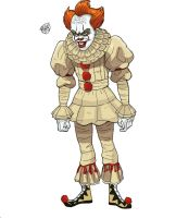 Pennywise - the Dancing Clown by bleyerart