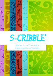 S-CRIBBLE TEXTURE PACK by anoushkaaa