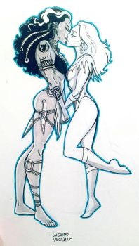 YA WARA and ICEMAIDEN NYCC Commission by LucianoVecchio