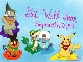 Gates to Infinity Get Well Soon Card by YoshiGamerGirl