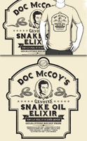 Doc McCoy's Genuine Snake Oil Elixir (Redbubble) by armageddon