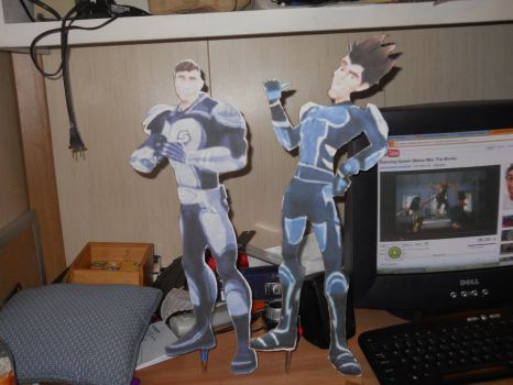 Spinner and Sherman Cut Outs by melee12