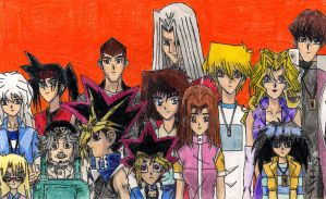 Yu-Gi-Oh Duel Monsters Cast by GodRules311
