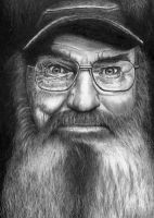 Duck Dynasty - Si Robertson by Doctor-Pencil