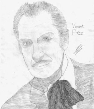 Vincent Price by aliendrone47
