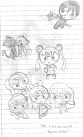 Sailor Moon Powerpuff Girls by MikeyWayluver013