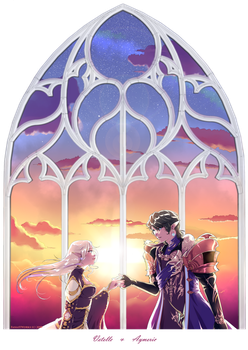 Vetelle and Aymeric by FanasY