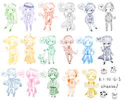[K-I-N-G-S] Cheebs by Pencil-Doodles