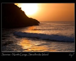 Sunrise at North Gorge by 2Stupid2Duck