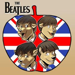 here they are  The Beatles by Jaehthebird