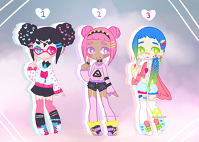 { Pastel Adopts } {closed} by hello-planet-chan