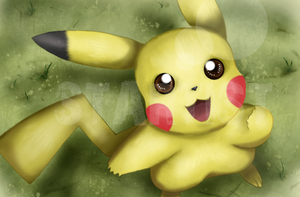 Pikachu -- I Choose You by StartistMakesArt