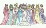 Ladies of the Next Generation by Moon-and-Sars