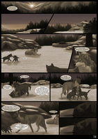 The Wolves Of Chena Page 14 by Yamis-Art
