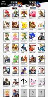 Super Smash Bros Wii U - 3DS by Mortdres