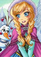 Do you want to build a snowman by Aiko-Mustang
