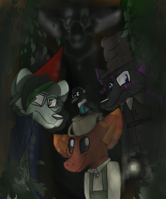 Over the Garden Wall- Furry edition by Levatheshapeshifter
