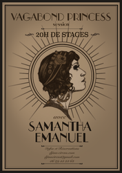 Samantha Emanuel Poster - Tribal Fusion Event by Scendre-Lab