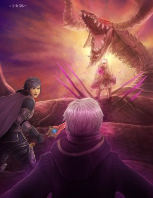 Final Battle Against Grima by B-side7715