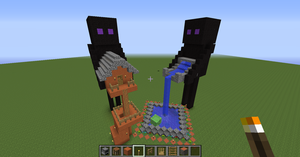 enderman waterfull thing by Senackichan