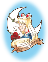 SMAM Day 1 - Sailor Moon by TwinEnigma
