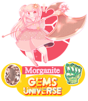 APP Gems Univers-Morganite by ShojoJackalope