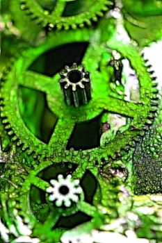 manipulated cog stock 3 by rustymermaid-stock
