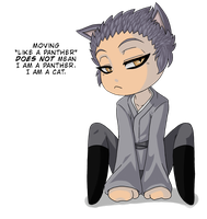 Hisoka is a Snarky Chibi by TerriTheSketcher