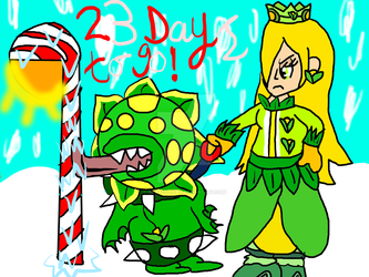 Countdown to Christmas:23 Days to Go!-Candy Cane? by Daracoon911