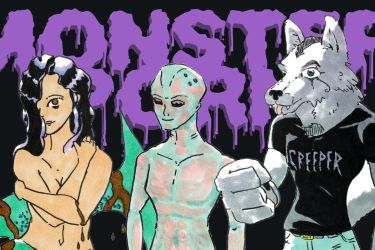 Monster Porn Group Header by monsterporn