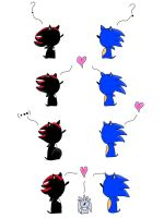 Small Sonadow Comic by Silverexorcist