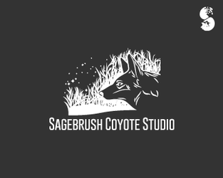 Sagebrush-Coyote-Studio-Logo by IrianWhitefox