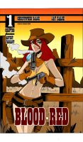 Blood Red Comic Cover by celaoxxx