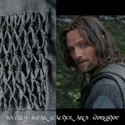 Aragorn's shirt replica - pattern by Svetliy-Sudar
