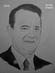 Tom Hanks (2018) by nielopena