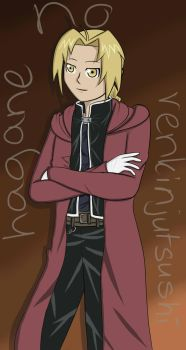 Edward Elric Coloured by Sharoniemo95
