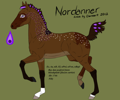 Nordanner Foal - #1746 by kagetora4ever