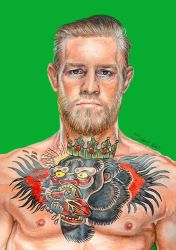 Conor McGregor by Sianypantsart