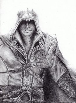 Ezio from assasins creed by S2KRamen